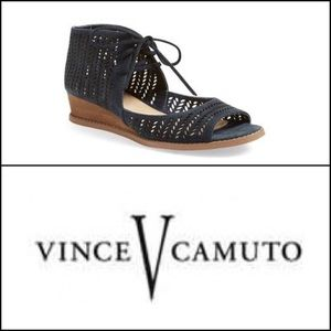 Vince Camuto Remme suede wedges